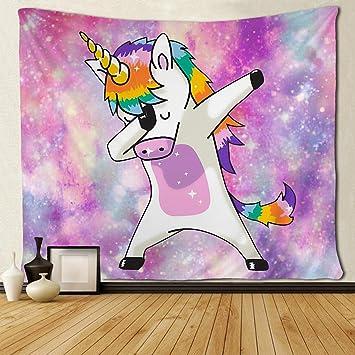 Amazon.com: Tapiz de pared de Sara Nell con diseño hippie de ...