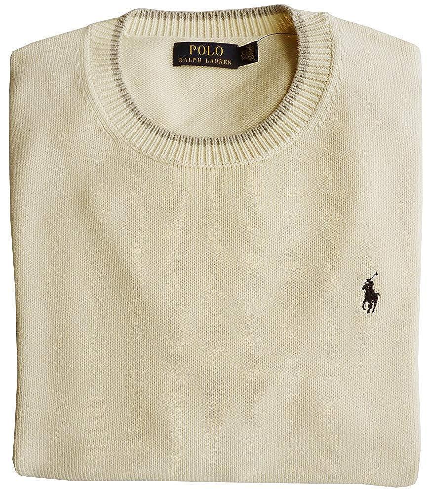 Polo Ralph Lauren Jersey, L, Flequillo Logo, Chic Crema: Amazon.es ...