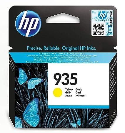 HP C2P22AE 935 Cartucho de Tinta Original, 1 unidad, amarillo ...