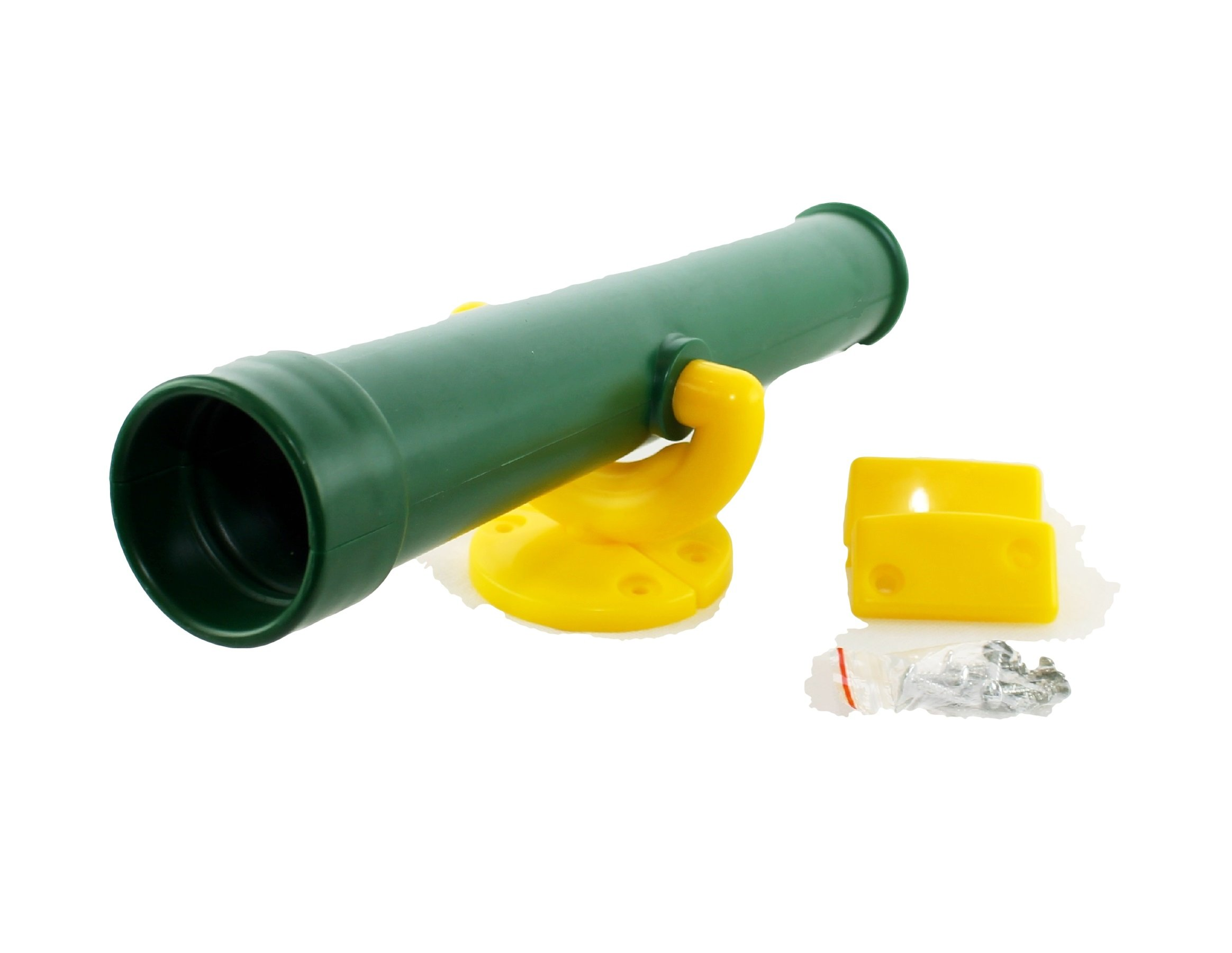 HIKS Green Kids Childrens Toy Telescope Also Available in Red, Yellow and Blue Ideal for Climbing Frames, Tree House, Play House and Dens by HIKS Products