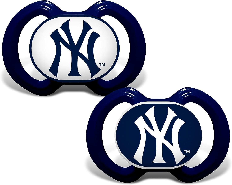 2 Pack Baby Fanatic Bibs New York Yankees