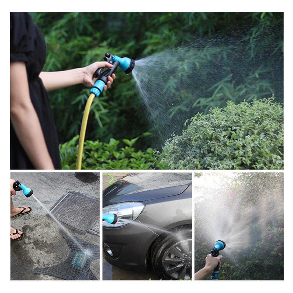 Wenyujh Garden Hose Nozzle Spray Nozzle Set, Water Nozzle Adjustable Watering Patterns For Watering Plants, Cleaning