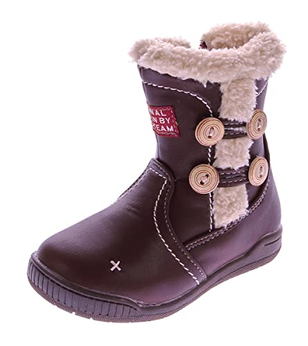reputable site 1fcef c5560 Magnus Kinder Stiefel Mädchen Winter Stiefel warm gefüttert Outdoor Boots  Reißverschluss Gr. 20-25