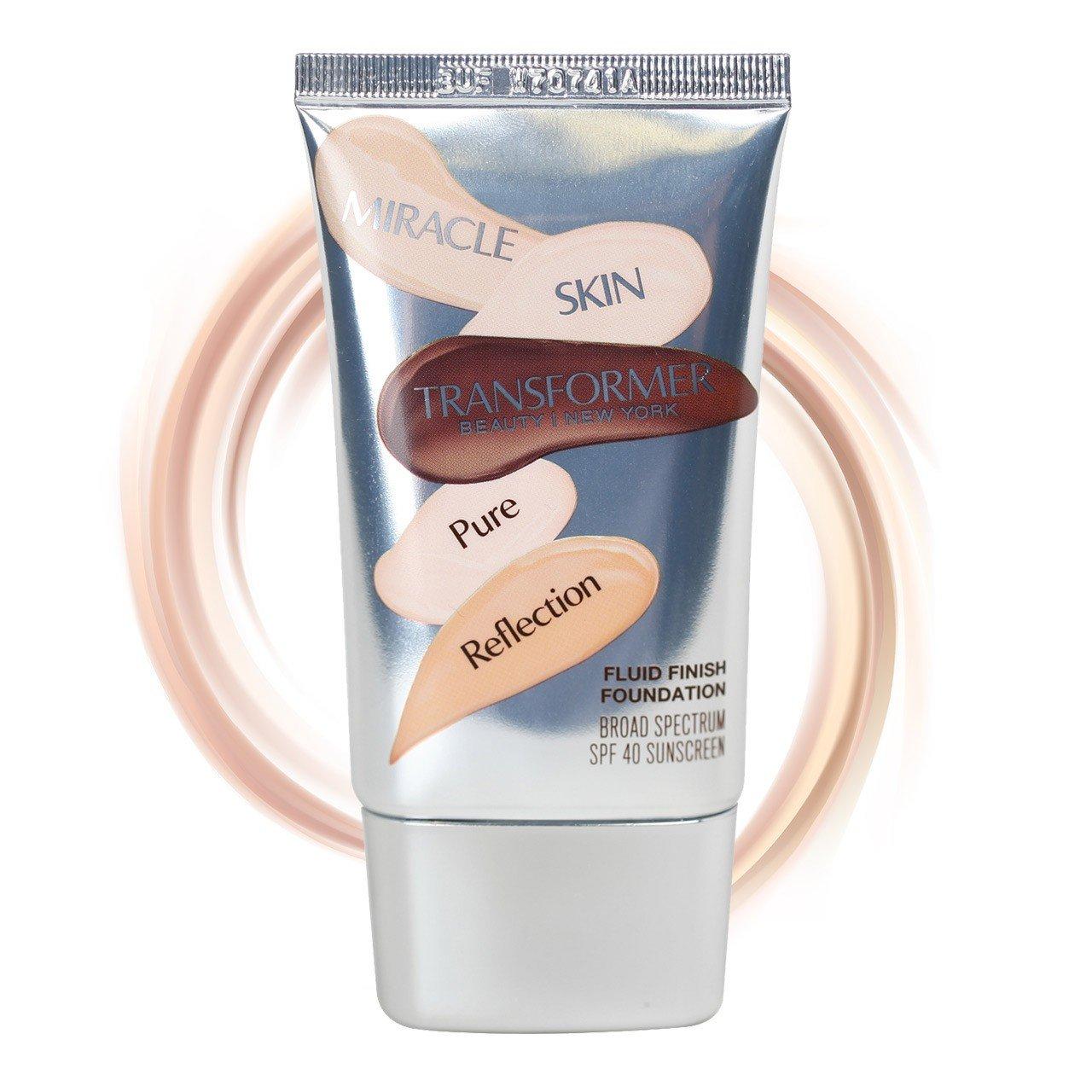 Amazon.com : Miracle Skin Transformer SPF40 Pure Reflection Fluid ...