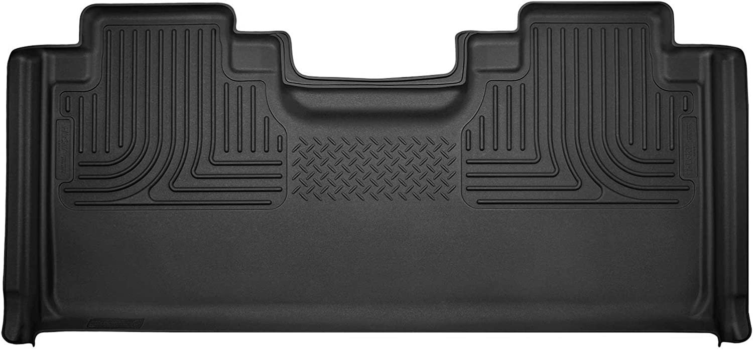 Husky Liners 2015 Ford F-150 SuperCrew Cab X-Act Contour Black Front Liner 53341