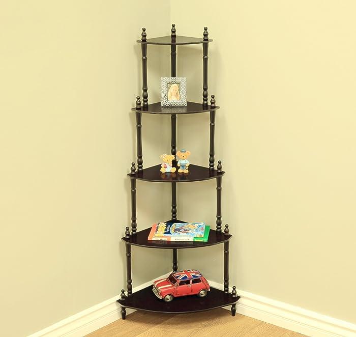 The Best Frenchi Home Furnishing 3Tier Corner Shelf