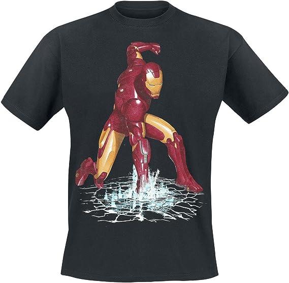 MARVEL IRON FIST T-shirt//Da Uomo//Donna//Bambini//FUMETTO