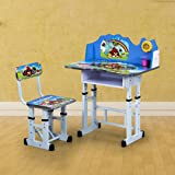 Royal Oak Angry Bird Desk with Chair (Blue)