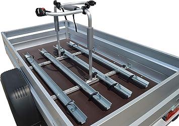 Universal Fahrradträger Für Pkw Anhänger Set 4 Fahrräder 1 070 1 250mm Ladeflächenbreit Auto