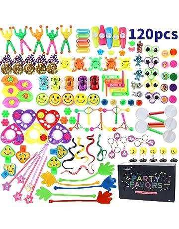 Amy&Benton 120 Juguetes de Fiesta a Granel - Ideal Rellenar Bolsas de Fiesta, Piñatas y