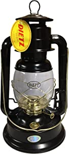 Dietz #90 D-Lite Oil Burning Lantern Black and Gold