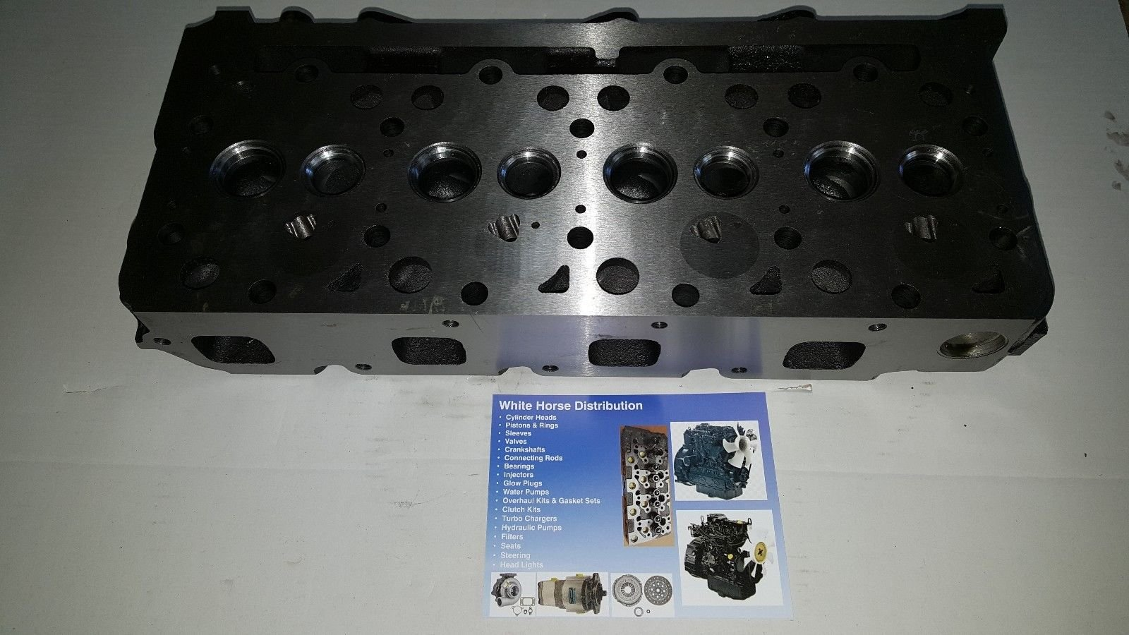 Bobcat B300 Diesel Bare Cylinder Head Part # 6655153 by WHDHD (Image #4)