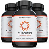 Smarter Curcumin - Potency and Absorption in a SoftGel. 95% Tetra-Hydro Curcuminoids. The Most Active Form of Curcuminoid Found in The Turmeric Root (3 Month Supply)
