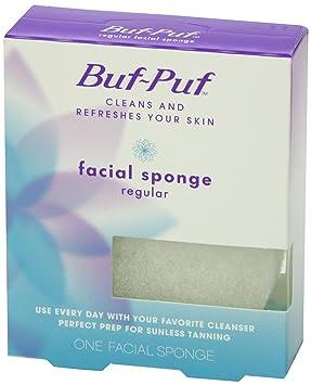 Buf-Puf Facial Sponge, Regular 1 ea(pack of 1) 3 Pack Clearasil Ultra Blackhead Scrub Heals acne fast 5oz Each