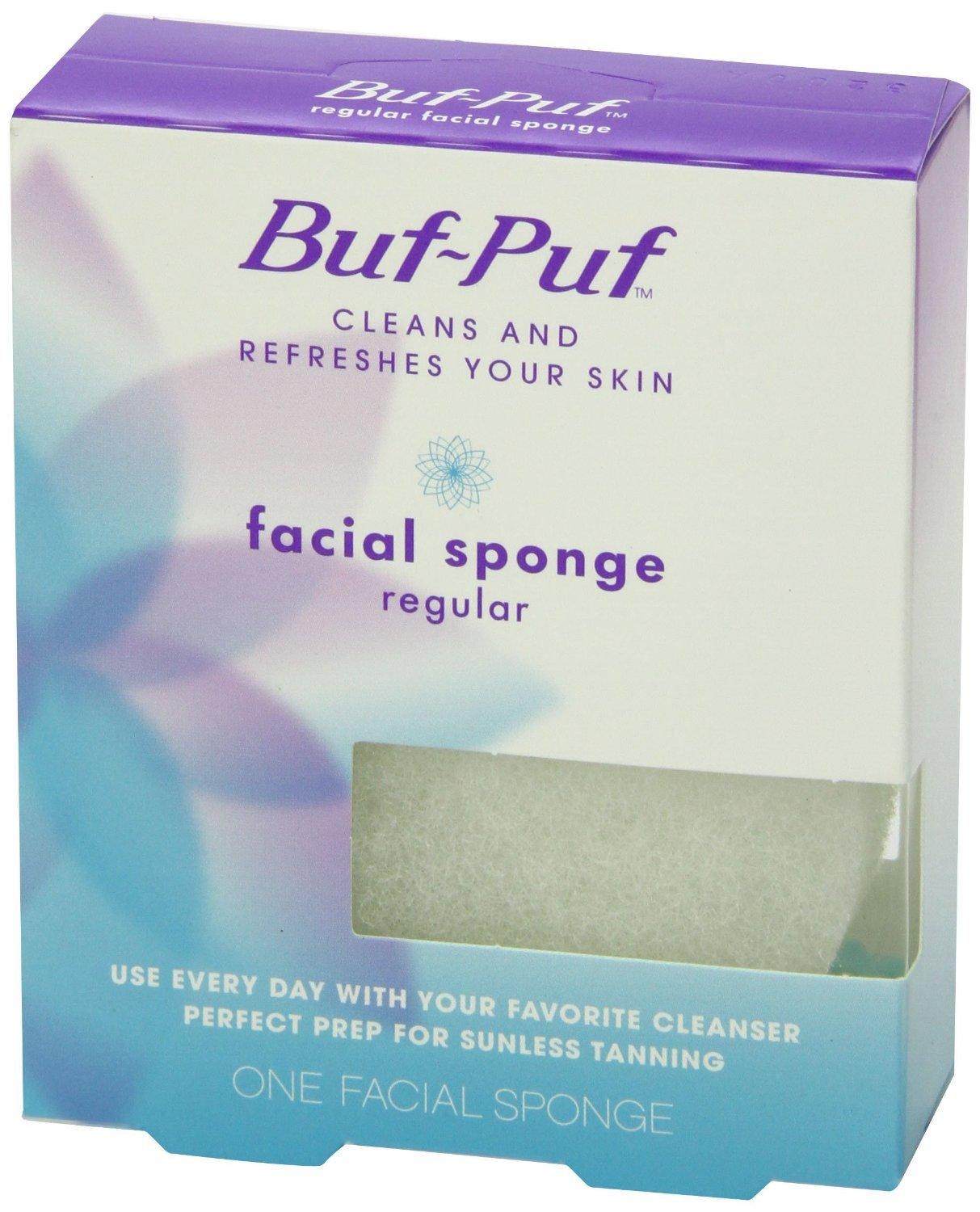 Girls naked buf puf facial sponges shot