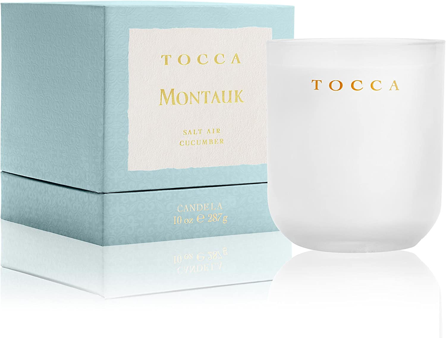 Tocca Montauk Salt Air & Cucumber Candle, 10 oz