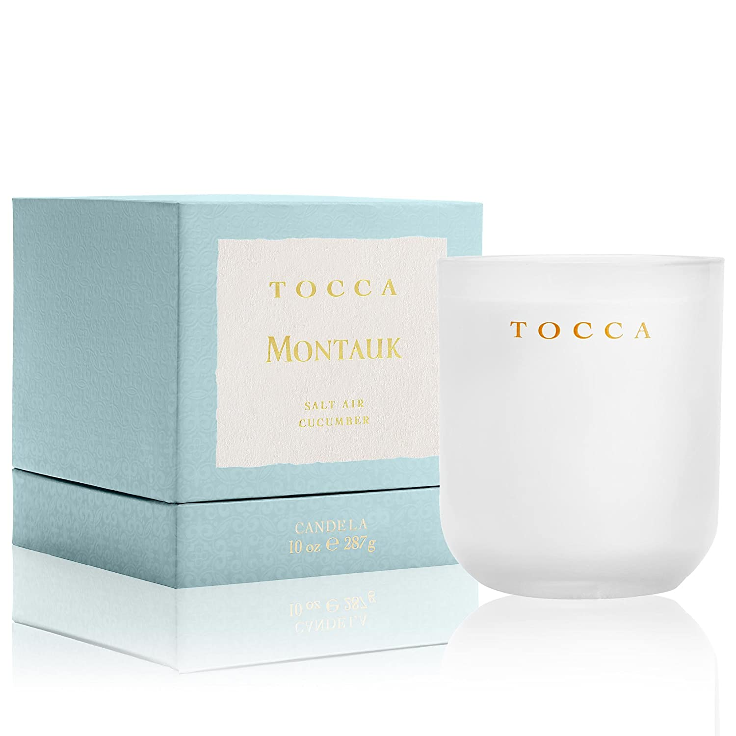 Tocca Montauk Candelina Salt Air Cucumber Scented Candle TB0077