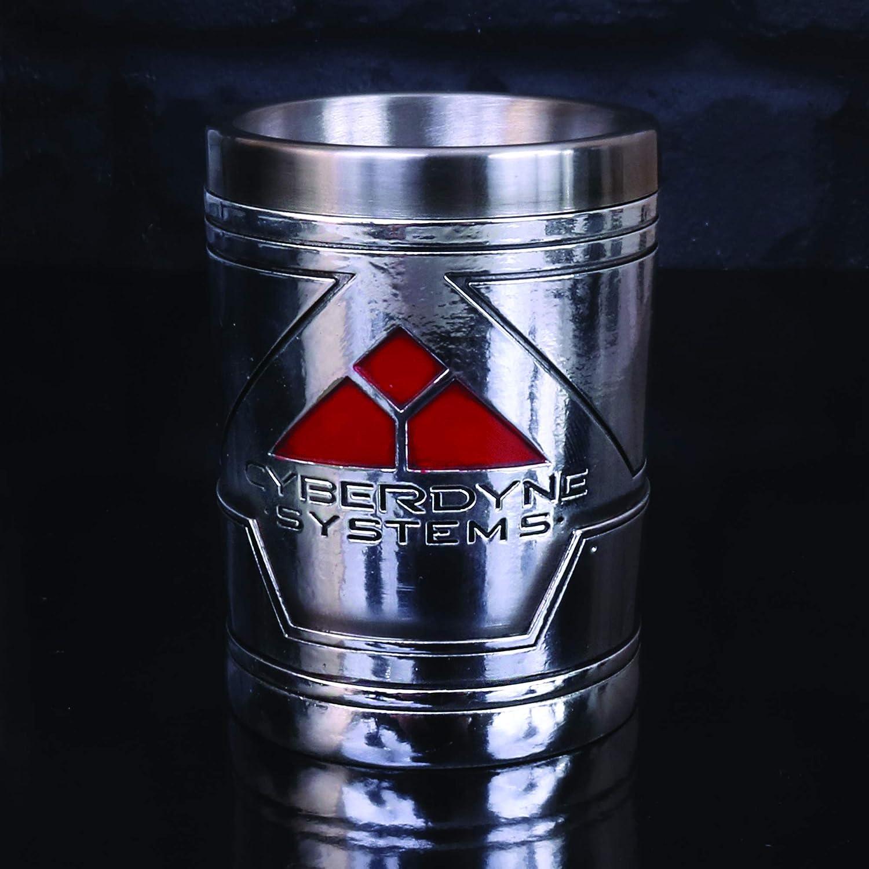 Nemesis Now B4722P9 Terminator 2 Verre /à shot en r/ésine et acier inoxydable 7 cm