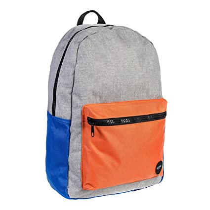 Globe Dux Deluxe Backpack Unisex Rucksack Dux Deluxe Pack Grey Orange by