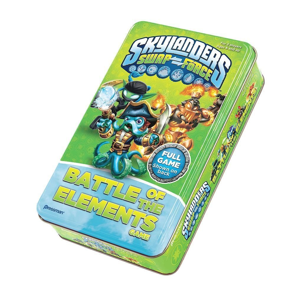 Skylanders Swap Force: Battle of the Elements Board Game by Pressman Toy (English Manual)