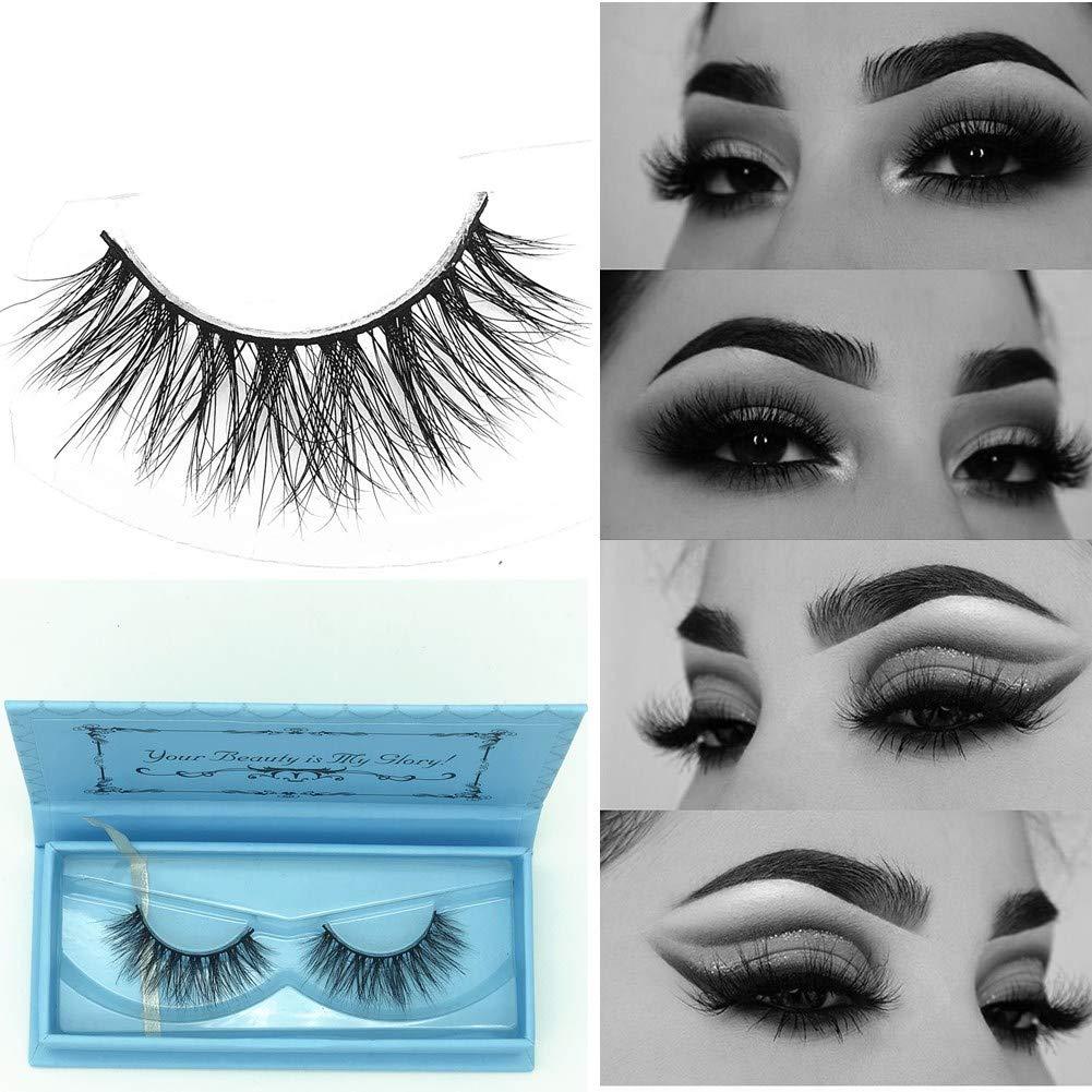 64050e415cc Miss Kiss 3D Mink Lashes Strip Cruelty Free Reusable 100% Siberian Mink Fur  False Eyelashes