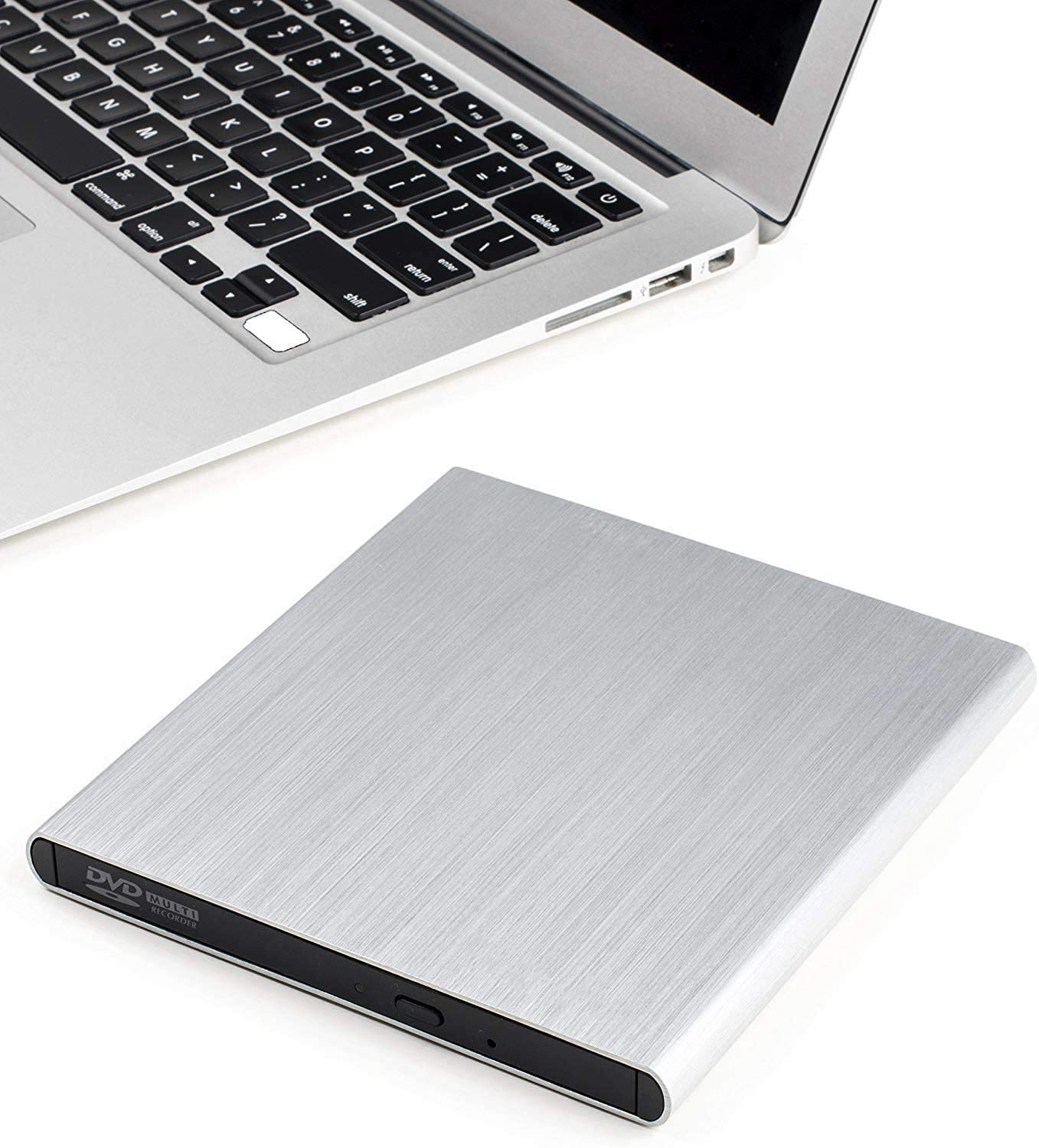 SEA TECH 1 Archgon Aluminum External USB DVD+Rw, RW Super Drive for Apple-MacBook Air, Pro, iMac, Mini