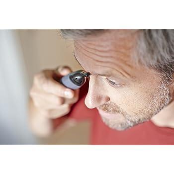 Manche Nasenhaartrimmer können auch in anderen Bereichen des Gesichts verwendet werden.