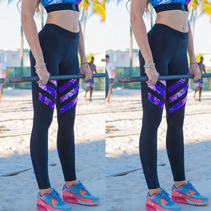 Xinantime_Yoga Pantalones Yoga Mujeres, Cintura Alta de los ...