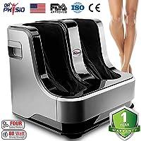 Dr Physio Shiatsu Electric Powerful Leg Foot and Calf Massager Machine (Black)