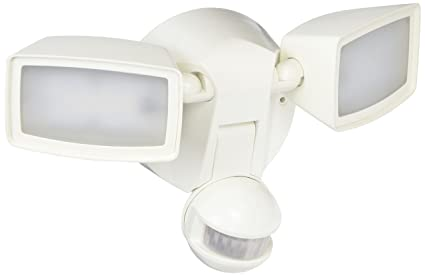 EATON Lighting MST1850LW White Twin LED Flood Light