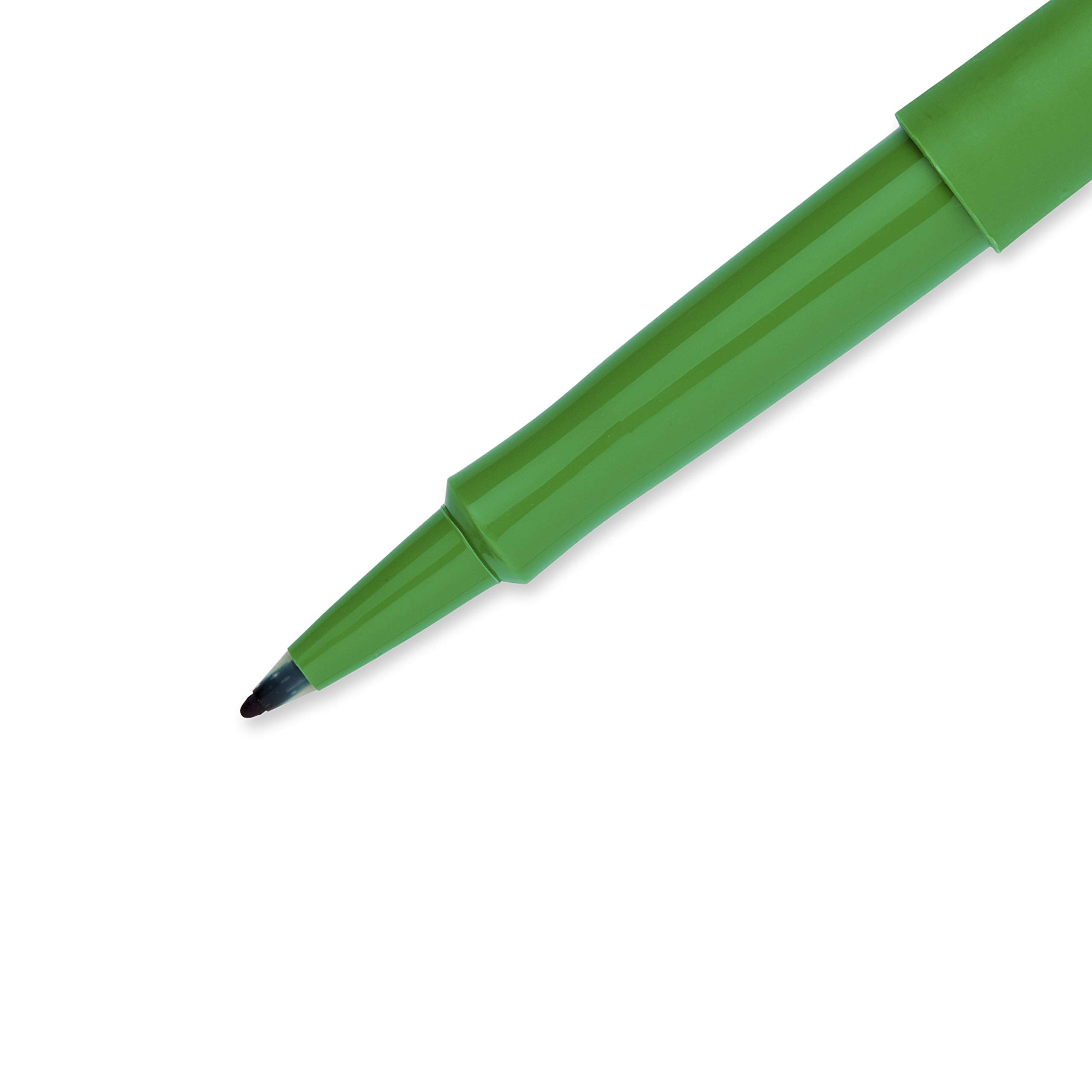 Paper Mate Flair Felt Tip Pens, Medium Point (0.7mm), 12 Green, 12 Blue & 12 Black, Total of 36 Pens by Paper Mate (Image #4)