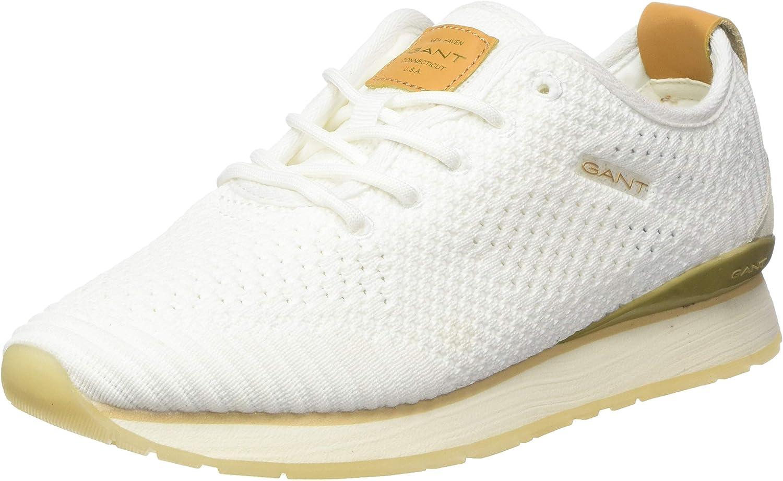 GANT Bevinda, Zapatillas para Mujer Blanco Off White G20 oy7wU