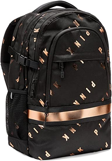 Victorias Secret PINK Collegiate Campus Backpack Black School