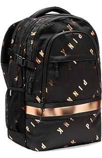 242ede5a5b67 Amazon.com  Victoria s Secret Bling Sequin CAMPUS BACKPACK BOOKBAG ...