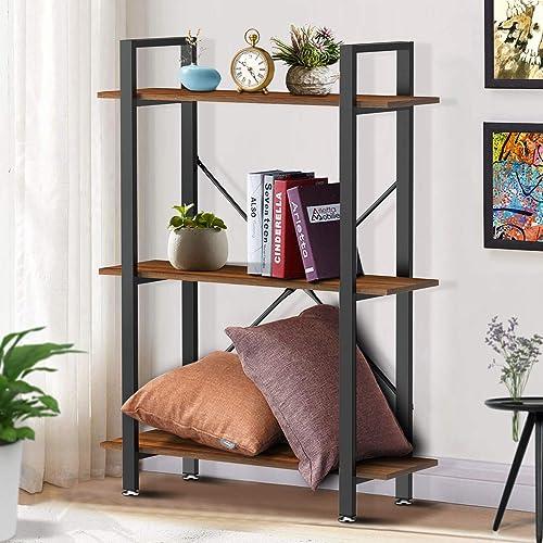 Yesker 3 Tier Bookshelf
