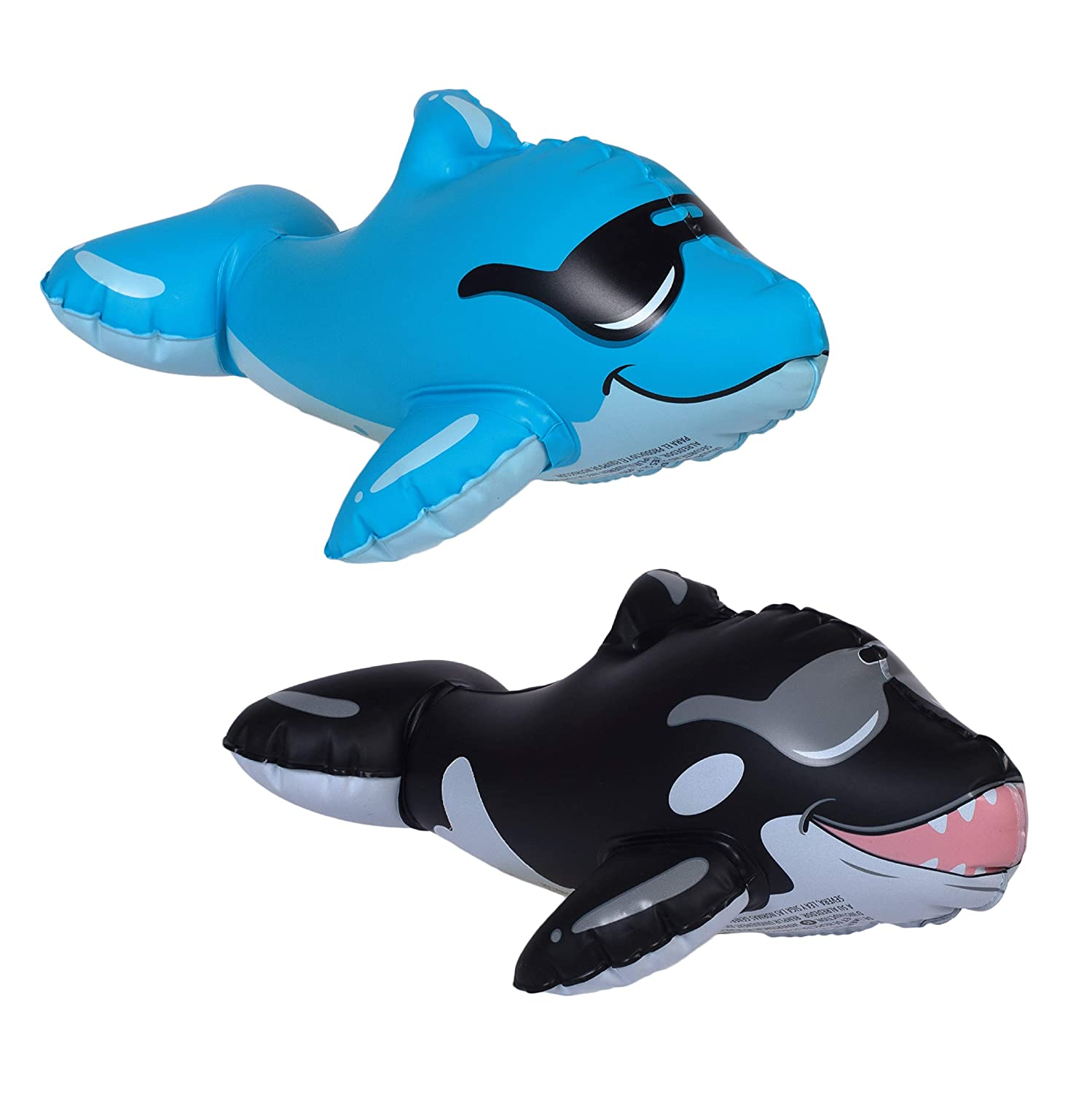 GAME 55303-BB SwimPals Water-Filled Pool Toys Dolphin Ages 6 /& Up Mermaid Submarine Regular Shark