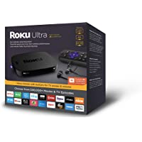 Roku Ultra 4661R 4K Streaming Media Player with JBL Headphones & Enhanced Voice Remote (2018 Edition)
