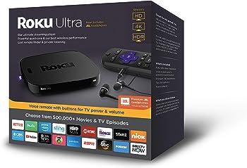 Roku Ultra 4661R 4K Streaming Media Player (2018 Edition)