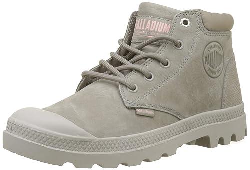 8c8e213eee Amazon.com | Palladium Pampa Lo Cuff Womens Moon Rock Grey Boots ...