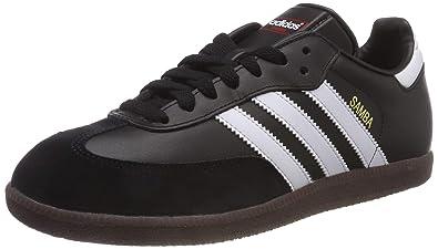 fd5db5d8b7 adidas Samba, 019000, Unisex-Erwachsene Low-Top Sneaker,Schwarz (black