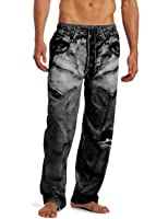 MJC International Men's Generic Faux Denim Pajama Pant