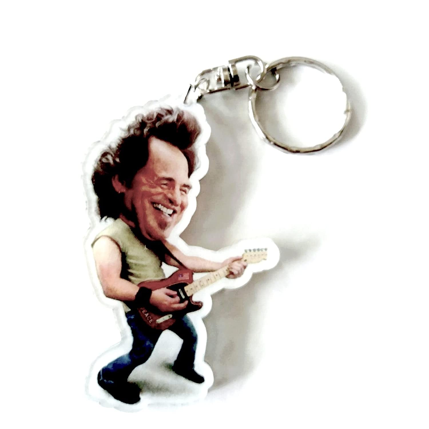 Portachiavi in acrilico caricature Music Legends - Bruce Springsteen Eurasia1 srl