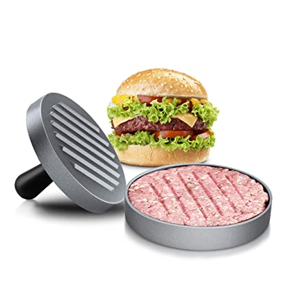 FAMKIT Burger Press Non-Stick Burger Patty Maker with Adjustable Thickness