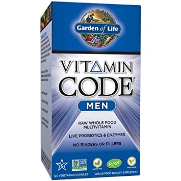 High Quality Garden Of Life Multivitamin For Men   Vitamin Code Menu0027s Raw Whole Food  Vitamin Supplement With