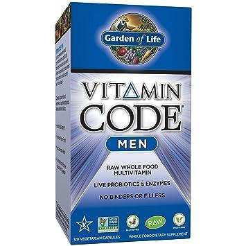 garden of life vitamin code men. Garden Of Life Multivitamin For Men - Vitamin Code Men\u0027s Raw Whole Food Supplement With R