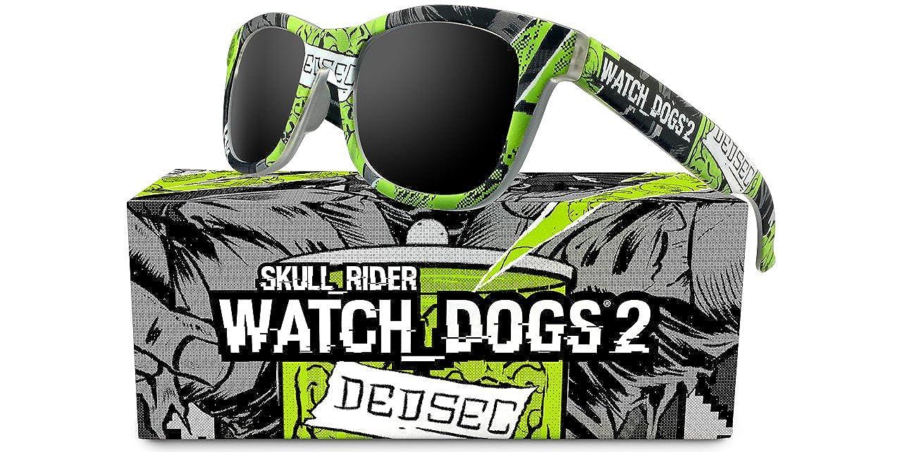 Skull Rider - Gafas de sol Watch dogs 2 Unisex