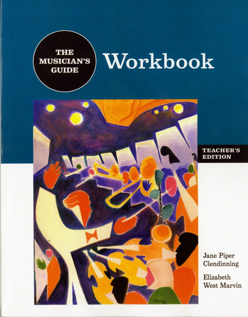 A Musician's Guide to Theory and Analysis Workbook Answer Key:  Amazon.co.uk: Jane Clendinning, Elizabeth Marvin: 9780393976656: Books