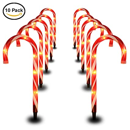 candy cane decorations christmas pathway lights 15 tall candy cane light pre