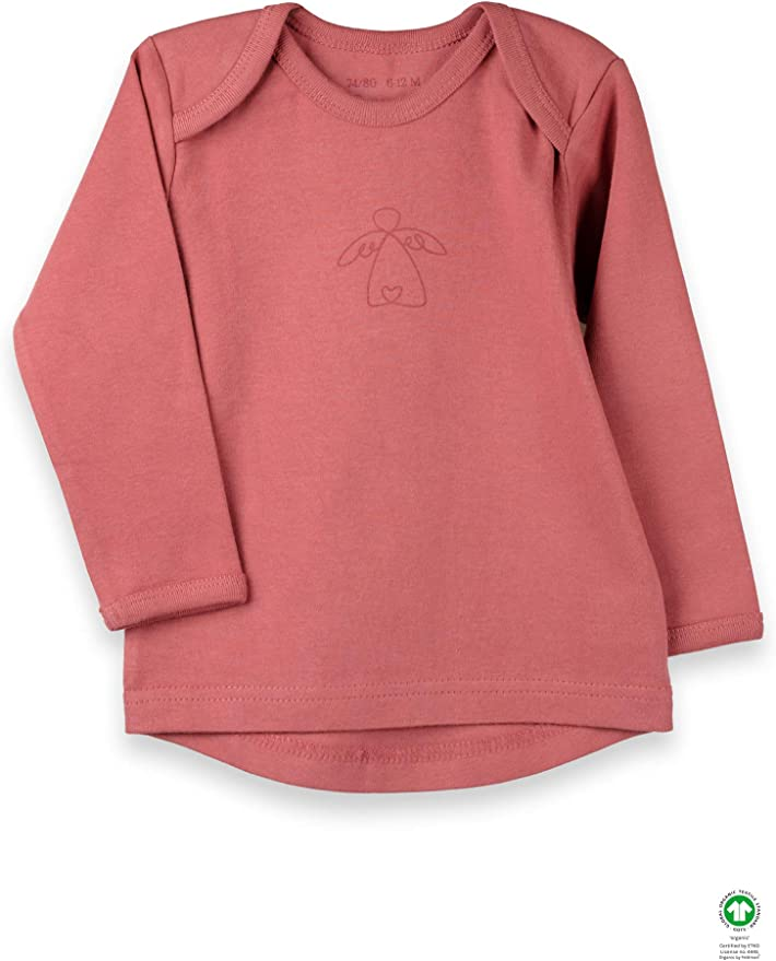 Camiseta de manga larga orgánica de Feldman, 100% algodón orgánico ...