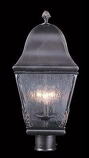 product image for Framburg 9591 SBR 3-Light Coeur De Lion Exterior Post Mount, Siena Bronze